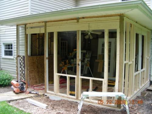 Enclosing A Porch Michael C Bower Construction